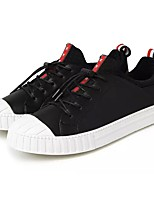 cheap -Men's Shoes PU Spring Fall Comfort Sneakers for Casual Blue Red Black