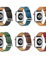cheap -Watch Band for Apple Watch Series 3 / 2 / 1 Apple Wrist Strap Modern Buckle Genuine Leather