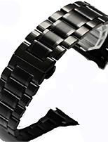 abordables -bracelet de montre pour Apple Watch série 3/2/1 bracelet de poignet Apple boucle classique en acier