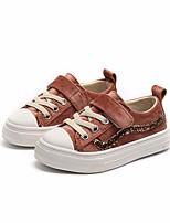 Недорогие -Девочки Мальчики обувь Ткань Весна Осень Удобная обувь Кеды для Повседневные Черный Розовый