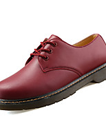 cheap -Men's Shoes Rubber Spring Fall Comfort Oxfords for Outdoor Burgundy Brown Black