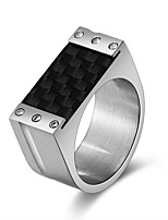 cheap -Men's Women's Band Rings Classic Cool Cord Stainless Steel Geometric Jewelry Evening Party New Year