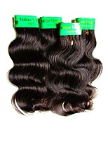 cheap -cheap human hair bundles body wave 4pieces 200g lot on sale 6a indian remy virgin human hair weaves natural black color 50g/piece