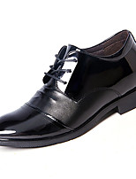 cheap -Men's Shoes PU Spring Fall Comfort Oxfords for Outdoor Black