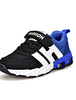 cheap -Boys' Shoes PU Tulle Spring Fall Comfort Light Soles Athletic Shoes Running Shoes for Athletic Outdoor Blue Black