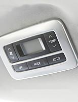 Недорогие -автомобильный кондиционер вентилятор охватывает DIY автомобильных интерьеров для toyota все годы sienna stailess steel