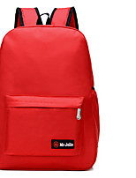 cheap -Unisex Bags Oxford Cloth Backpack Zipper for Casual All Seasons Orange Red Yellow Fuchsia Sky Blue
