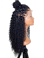 cheap -Pre Plucked Brazilian Kinky Curly Lace Front Human Hair Wigs With Baby Hair Glueless Human Hair Lace Wig