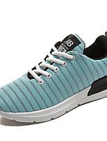 economico -Per donna Scarpe PU (Poliuretano) Primavera Comoda Ballerine Footing Piatto Punta tonda per Casual Bianco Nero Blu