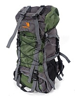 cheap -60 L Hiking & Backpacking Pack Rucksack Backpack Hiking Outdoor Exercise Camping Camping&Hiking Back Country Mountaineering Travel Nylon