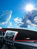 cheap -Automotive Dashboard Mat Car Interior Mats For Toyota 2014 2015 2016 2017 Vios