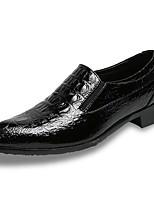 economico -Per uomo Scarpe PU (Poliuretano) Primavera Autunno Comoda Sneakers per Casual Nero Borgogna