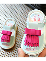 cheap -Baby Shoes Other Animal Skin Spring Summer Comfort First Walkers Sandals for Casual Light Blue Pink White