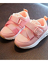cheap -Girls' Shoes Fabric Spring Fall Comfort Sneakers for Casual Pink Black