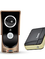 cheap -Denimini WF-Doorbell-golden-I Smart Wireless Video Goorbell Motion Detection Infrared Night Vision Gold