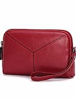 preiswerte -Taschen PU Unterarmtasche Reißverschluss für Normal Draussen Frühling Herbst Schwarz Rote Grau