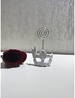 cheap -Rhinestone Plastic Resin Wedding Card Holder Standing Style 1