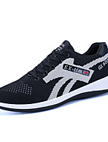 cheap -Men's Shoes Tulle Spring Fall Comfort Sneakers for Casual Black Gray Blue