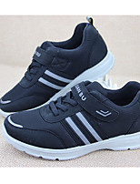 cheap -Men's Shoes Canvas All Seasons Comfort Sneakers for Casual Black Gray Blue