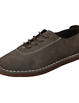 cheap -Men's Shoes Synthetic Microfiber PU PU Leatherette Spring Fall Comfort Oxfords for Casual Gray Light Brown Dark Brown