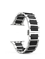 cheap -Watch Band for Apple Watch Series 3 / 2 / 1 Apple Classic Buckle Stainless Steel Wrist Strap