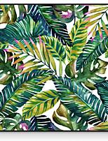 Недорогие -ботанический Масляные картины Предметы искусства,Полистирен материал с рамкой For Украшение дома Предметы искусства в рамках В помещении