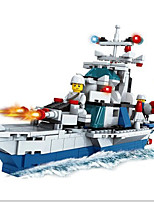 cheap -Building Blocks Toys Nautical Transformable Mythology ABS Boys Girls 497 Pieces