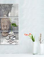 Недорогие -Холст для печати Modern,3 панели Холст Вертикальная С картинкой Декор стены Украшение дома