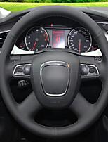 abordables -housses de volant automobile (cuir) pour Audi A4L ancien style avec des modèles clés