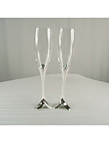 cheap -Glass Zinc Alloy Toasting Flutes Gift Box Floral & Botanicals Wedding All Seasons