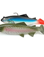 cheap -1 pcs Fishing Lures Soft Bait g / Ounce mm inch, Plastic Sea Fishing Bait Casting Lure Fishing