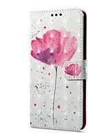 cheap -Case For Huawei Mate 10 pro Mate 10 lite Card Holder Wallet with Stand Flip Magnetic Pattern Full Body Cases Flower Hard PU Leather for