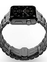 economico -Cinturino per orologio  per Apple Watch Series 3 / 2 / 1 Apple Custodia con cinturino a strappo Chiusura classica Acciaio inossidabile