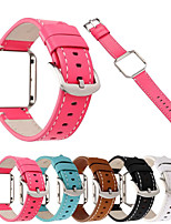 cheap -Watch Band for Fitbit Blaze Fitbit Wrist Strap Classic Buckle Genuine Leather