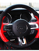 cheap -Automotive Steering Wheel Covers(Leather)For Ford 2015 2016 2017 Mustang