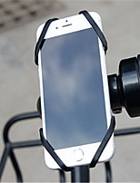 cheap -Bike Mobile Phone mount stand holder Adjustable Stand Mobile Phone Buckle Type Silica Gel Holder