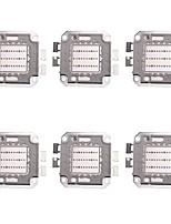 Недорогие -6pcs высокой мощности 30w 1400lm полный цвет светодиодный чип dc74-85v