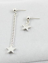 cheap -Women's Stud Earrings Mismatch Sweet Imitation Pearl Alloy Star Jewelry Party Daily Costume Jewelry