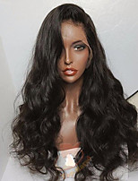 cheap -Brazilian Body Wave Lace Front Human Hair Wig Lace Wig With Baby Hair Pre Plucked