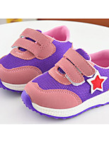 cheap -Girls' Shoes Tulle Spring Fall Comfort Sneakers for Casual Blue Purple