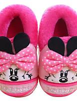 abordables -Fille Chaussures Tissu Hiver Automne Confort Chaussons & Tongs pour Décontracté Gris Pêche Rose Bleu royal