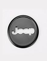 cheap -Automotive Steering Wheel Decor Frame DIY Car Interiors For Jeep 2014 2015 2016 2017 Grand Cherokee Cherokee Aluminium Alloy