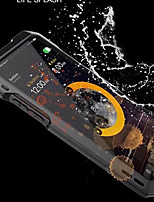 cheap -Case For Apple iPhone X iPhone 8 Water/Dirt/Shock Proof Full Body Armor Hard Metal for iPhone X iPhone 8 Plus iPhone 8 iPhone 7 Plus