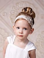 cheap -Girls' Hair Accessories,All Seasons Cotton Headbands-White
