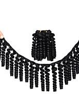 abordables -Saniya Curl hinchable Curl Trenzas africanas 1 paquete Trenza de la torcedura Trenzas de cabello