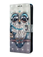 cheap -Case For Huawei Mate 10 pro Mate 10 lite Card Holder Wallet with Stand Flip Magnetic Pattern Full Body Cases Owl Hard PU Leather for Mate