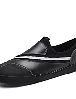 cheap -Men's Shoes Nappa Leather All Seazons Comfort Loafers & Slip-Ons for Casual Office & Career Wine Gray Black