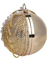preiswerte -Damen Taschen PU Abendtasche Knöpfe Kristall Verzierung für Normal Alle Jahreszeiten Blau Gold Schwarz Silber Rote