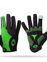 cheap -Sports Gloves Bike Gloves / Cycling Gloves Keep Warm Wearable Stretchy Full-finger Gloves NYLON Lycra leather Cycling / Bike Unisex