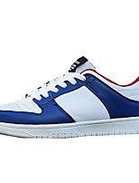 cheap -Men's Shoes Synthetic Microfiber PU Spring Fall Comfort Sneakers for Casual Blue Black White